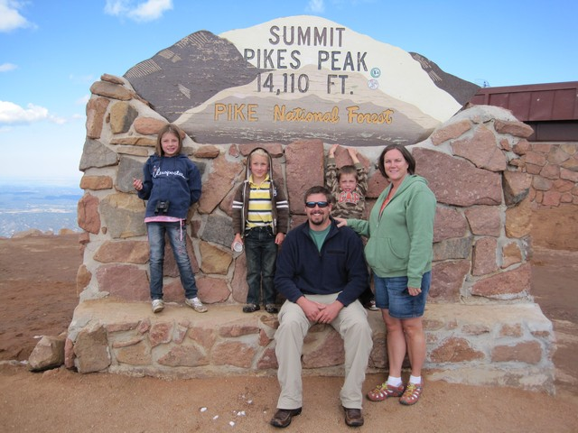 Be Sure To Get Your Photo Infront Of The Pikes Peak Sign It Still Says 14 110 Feet Elevation Last I Saw But Most Recent Survey Data 115